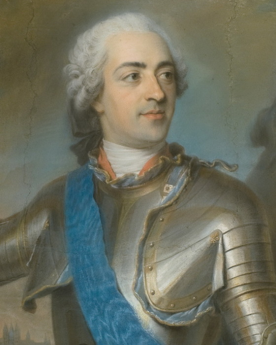 М. Кантен де Латур. Людовик XV